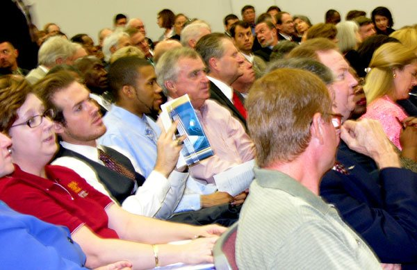 About 400 people attended Tuesday's Higher Education Summit at the Midlands Tech Airport Campus.