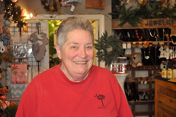 Dot Fishburne, an employee at Something Special Florist on Main Street, says that she wanted Hillary Clinton to win the 2016 election. She thinks that President Trump could take away a lot of people's rights, like those of the LGBTQ community.