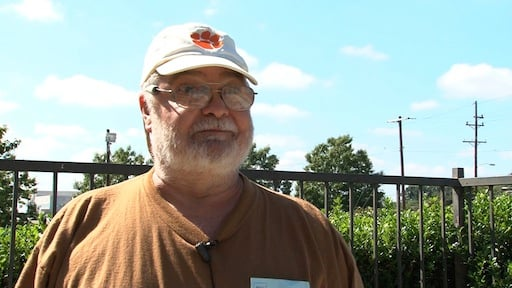 Philip Bodie lost his job last spring as a power plant worker.