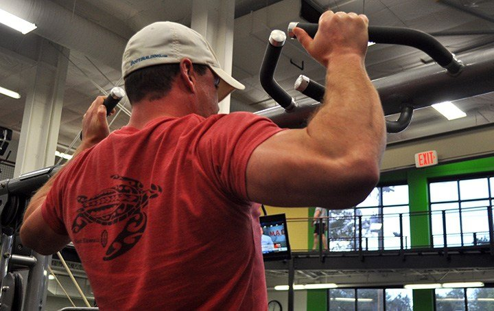 Former solider, now bodybuilder Matthew Headdon said an exercise as simple as pullups is essential for core strength, as well as upper body strength.