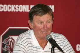 Head coach Steve Spurrier was happy to get an SEC road win.