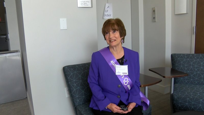 Being a caregiver herself, Patty Younts knows the importance of reciving Respite Funding.