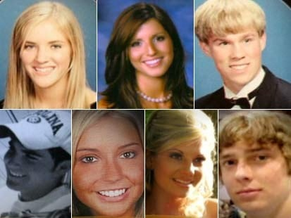 The seven students who lost their lives in the tragic Ocean Isle Fire