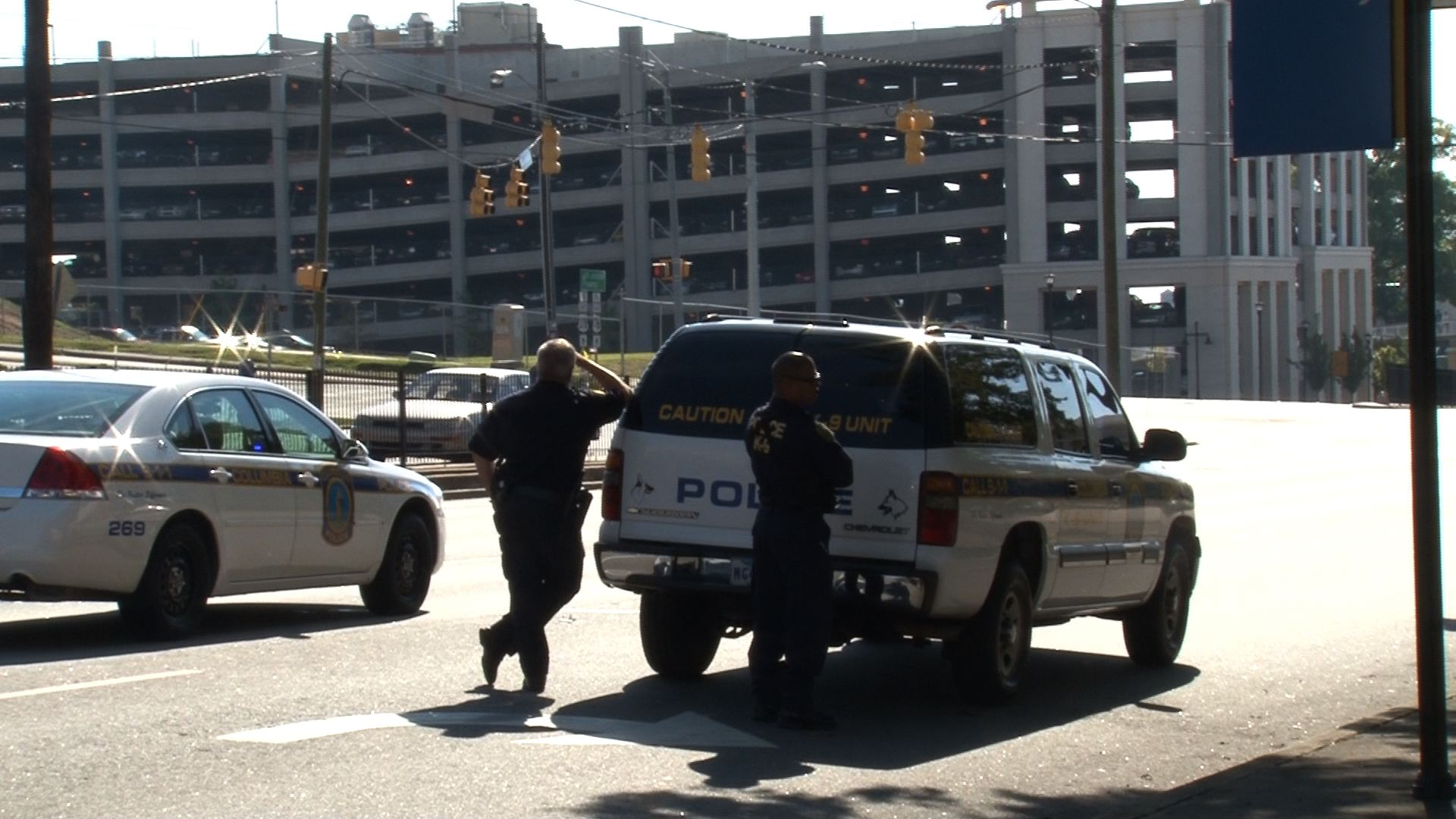 Columbia and University police closed off Assembly and Blossom streets during the investigation.