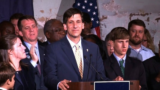 Sheheen conceded late Tuesday in front of a crowd of supporters.