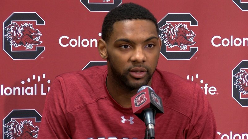 Senior leader Sindarius Thornwell preaches to his teammates that they need to continue the mantra 'why not us?'
