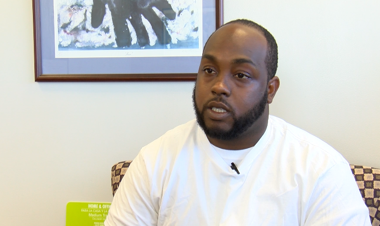 Curtis Bouknight graduated from YouthBuild Columbia in 2015 and he has since gone back to serve as a volunteer.