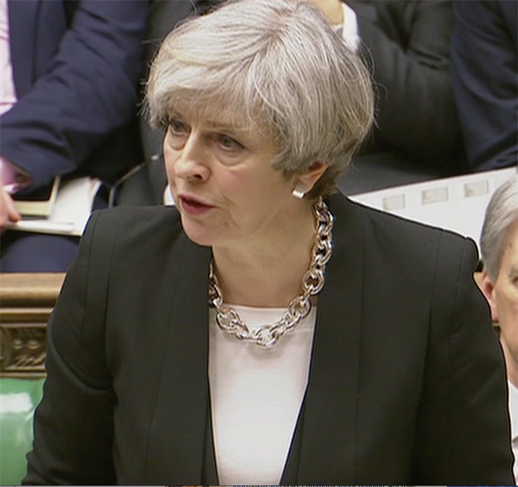 Prime Minister Theresa May thinks the Terrorist strategically planned the location of the attack.