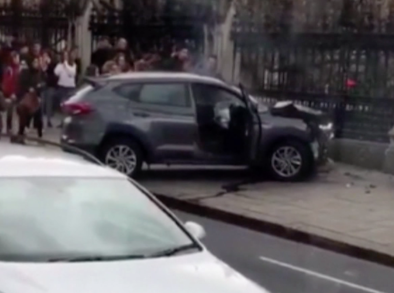 The terrorist used this car to drive into the victims.