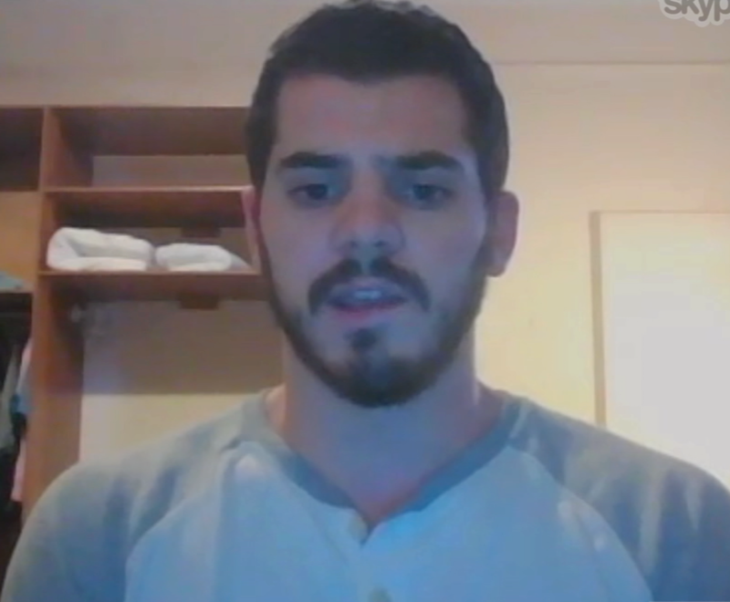 American college student Stephen Palis believes the police are doing a good job protecting citizens.