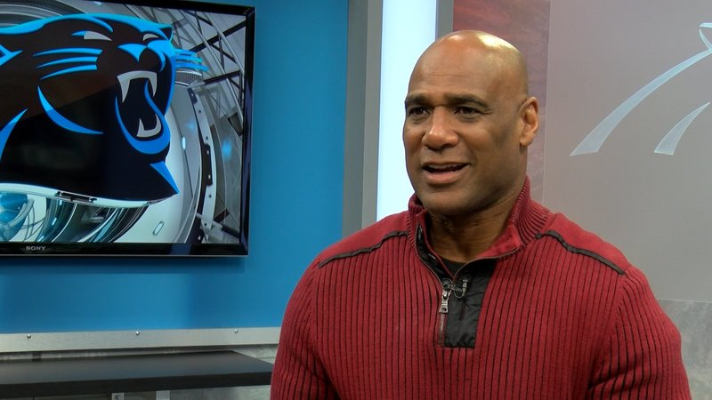 Eugene Robinson played for the Panthers in 2000 and has called Charlotte home since.