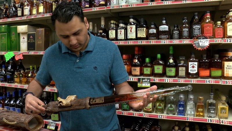 Nikhil Kesar said you may not be able to find unique imported liquors like he has in big retail stores.
