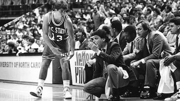 Chris Corchiani, who played at NC State from 1987-1991, is second all time for NCAA career assists