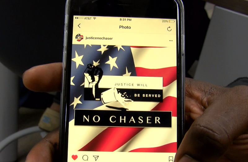 The group, Justice No Chaser, is using social media to gain a following and spread their word.