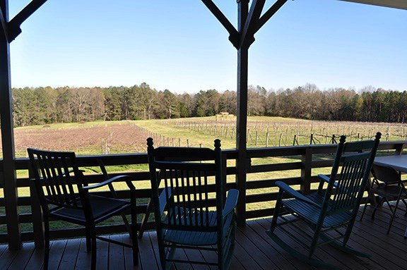 The vineyard at Enoree River Winery in Newberry used to be a cow field. Winery owners Richard and Laura LaBarre enlisted the help of their friends and family to prepare the land and plant their first vines 12 years ago.