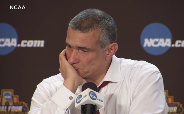 An emotional Frank Martin says the team may have lost the game but won in so many other ways.