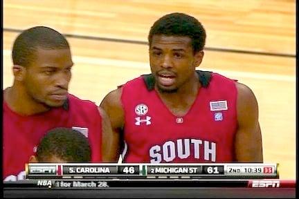 Fans complain South Carolina's uniforms look more apple red than garnet.