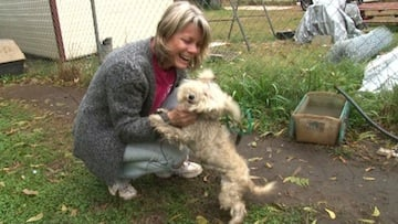 Donna Ezzell rescued Chloe from an elderly woman in the Upstate.