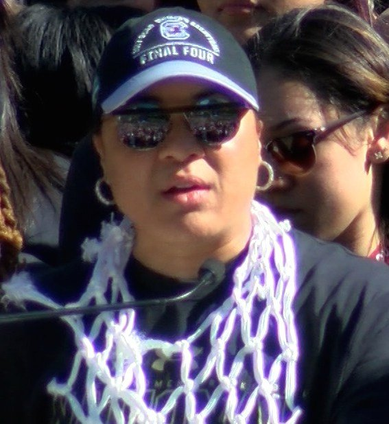 Head Coach Dawn Staley says this celebration was long awaited