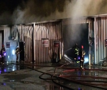 The Jones family's life has been turned upside down by the sudden raging fire that consumed their auto shop on Monday morning