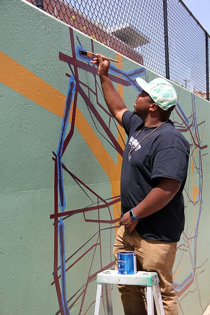 Local artist Michael Dantzler, 31, of Eastover, started drawing and collecting maps around the age of six after being exposed to his father's model train displays.