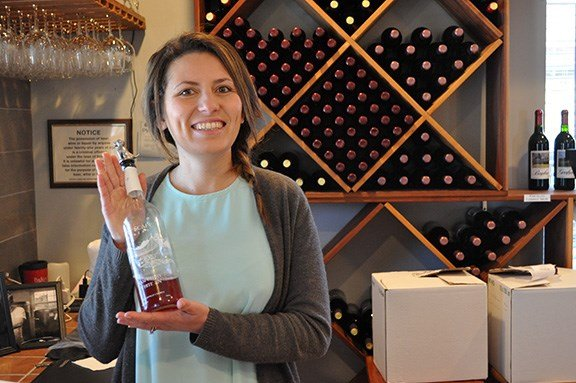Deb and Josh Jones play to their strengths when it comes to duties around the vineyard. Josh works in wine production with the scientific and mechanical aspects of winemaking, while Deb often runs events and the tasting room to show the wine to customers.