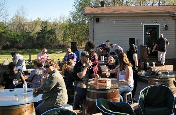"City Scape Winery often hosts charity events because the owners want to help ""bless the community."" Recently, the winery hosted Lucky Pup Rescue SC's Woof and Wine fundraiser."