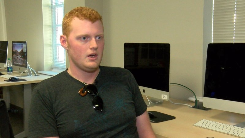 Evan Dodge, a sophomore at USC says the bill threatens online privacy