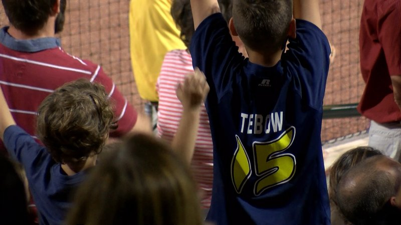 Fans young and old rooting for Tim Tebow