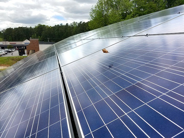 Commercial solar systems cost on average $1.75 to $3 per watt installed, according to a report from the public utility, South Carolina Electric & Gas. But new technologies are bringing those costs down every year.