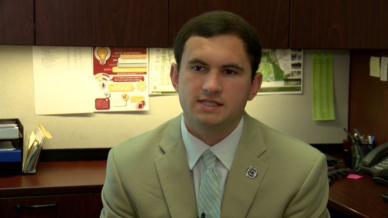Ross Lordo worked with students and other state colleges to write a letter to the governor.