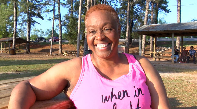 Benita Ferguson enjoys both the physical and mental benefits of consistent exercising.