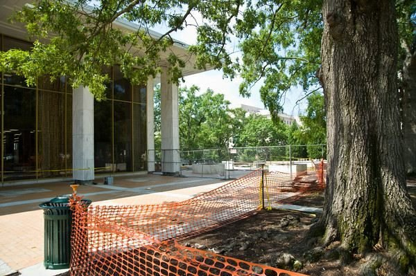 The Thomas Cooper Library underwent major renovation inside and out in 2010.