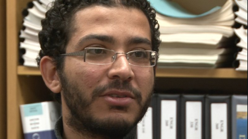 Sherif Abdelgawad's family lives in Cairo and contacting them has been difficult.