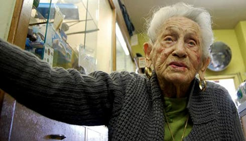 Florence H. Levy, 103, opened Reliable Loan Office & Pawn Shop in 1941 at 1304 Assembly St. She still works at the jewelry counter every day the store is open. Employees credit Levy's regular work schedule for her longevity.