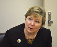 Rep. Shannon Erickson, R-Beaufort, thinks DNR would benefit from being in Gov. Haley's Cabinet.