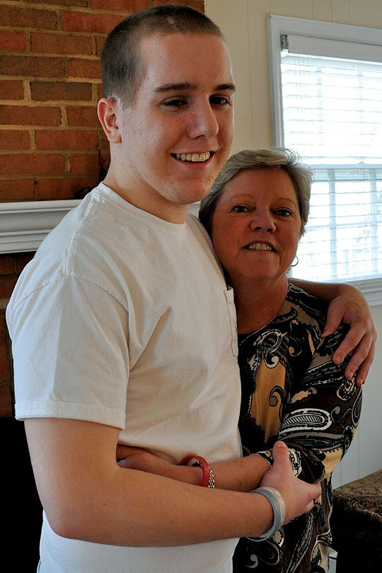 """Geralyn Eichorn, Eichorn's mother, says he has become """"much more appreciative"""" since the fall. On Tuesdays and Thursdays, they eat lunch together before she takes him to his study-skills class at Central Piedmont Community College."""