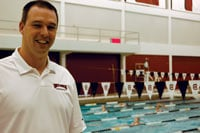 USC swim and dive coach McGee Moody thinks the average person can learn to swim in six to eight weeks.