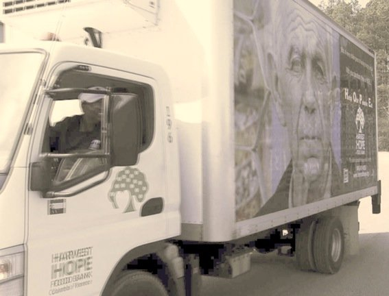 Harvest Hope will be able to buy another refrigerated truck with the $75,000 Walmart donation.