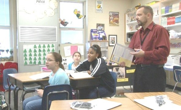 """Students say it's fun to learn with their fifth grade teacher """"Mr.A"""" who's up for South Carolina's Teacher of the Year."""