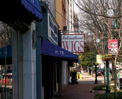 Replacing awnings and signs on Main Street will be covered in the facade program to improve the appearance of downtown Columbia and attract retailers.