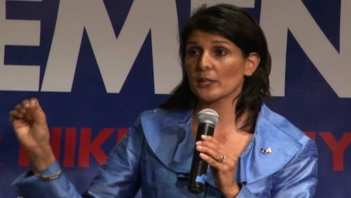 Governor Haley held her first town hall meeting Thursday, March 3rd.