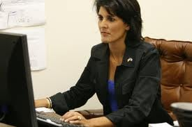 Governor Haley denies telling the Lexington Medial Center she earned $120,000 in 2007 when she applied for a job.