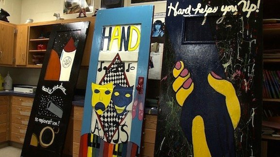 Artwork Examples at Hand Middle School