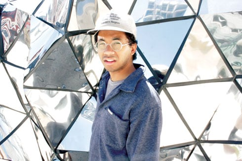 """Chaz Bundick, 24, formed the band Toro y Moi while he was majoring in Graphic Design at the University of South Carolina. Bundick is now on tour in support of his new album, """"Underneath the Pine."""" (Photo courtesy of Chaz Bundick)"""