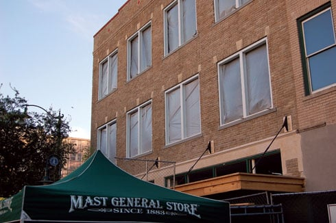 City Center Partnership hopes that the Mast General Store's second location in South Carolina on the 1600 block of Main Street will attract visitors.