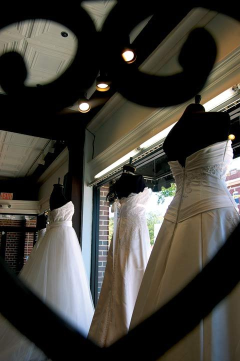 Bella Vista Bridal & Wedding Boutique in the Vista opened in 2006 and sells high-end couture gowns for a variety of prices.