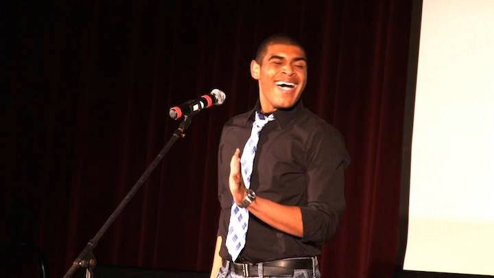 Kendrick Marion was the winner of this year's USC American Idol.