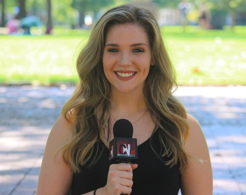 Katie hopes to be a reporter out of college.