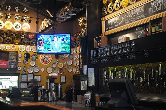 The Flying Saucer, a restaurant in Columbia, is remaining neutral in regards to the NFL protest and will play whatever games their customers are interested in watching.